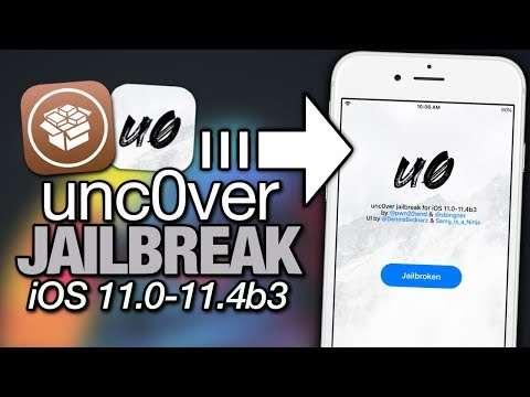 NEW unc0ver JAILBREAK iOS 11.0 - 11.4b3 Created By pwn20wnd For iPhone & iPad