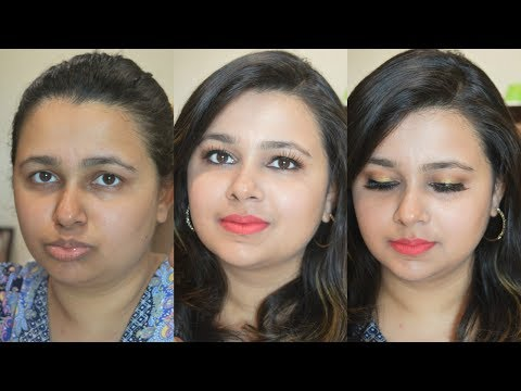 Simple Party Makeup at Home in HINDI | theitgirlbymj