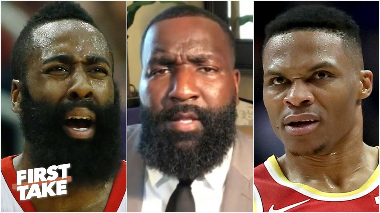 Trade them both! - Kendrick Perkins says the Rockets should trade Westbrook & Harden | First Take