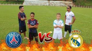 PSG VS REAL MADRID ( Desafio 2 vs 2) (Aladdin vs Bolivia)