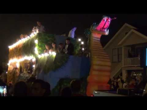 Mardi Gras Galveston TX 2014. Knights of Momus