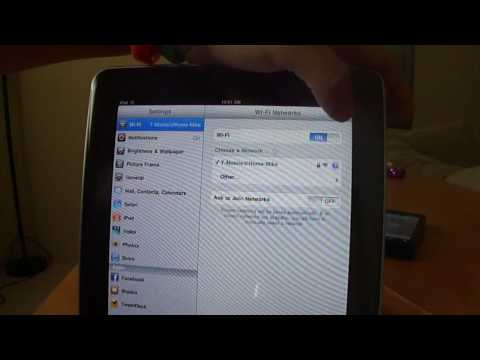 ICT Droids - Tether iPad thru Android for iPad 3G!