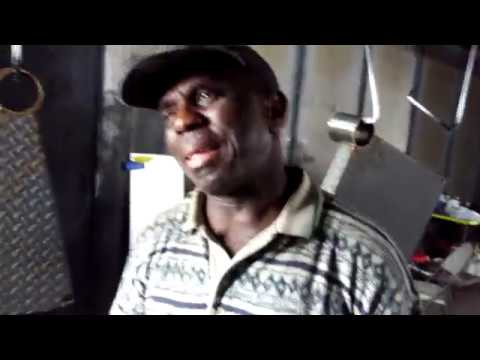 Liberian Co-Worker Tears up on my Last Day of Work - Emotional Exit Interview - Don't Cry :(