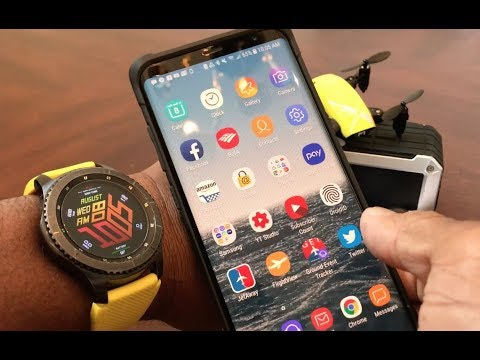 How To Unlock Your Galaxy Note 8, S8 And S9 With Your Gear S3 SmartWatch!