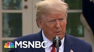 Trump Follows Science Over Economic Advisors   Morning Joe   MSNBC