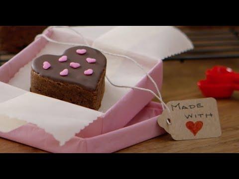 BAKER'S Mocha Brownie Sweethearts