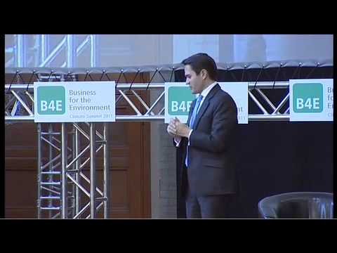 Unlocking resource productivity for sustainable growth - B4E Climate Summit 2011, London