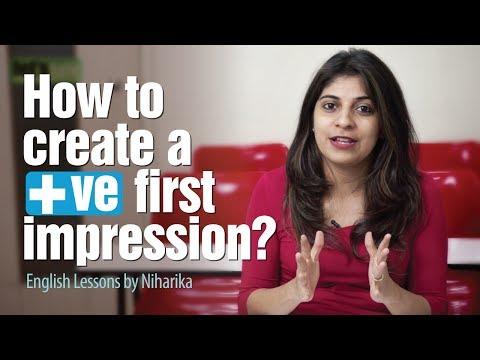 5 tips To Make a Killer First Impression - Personality Development & English lessons by Niharika