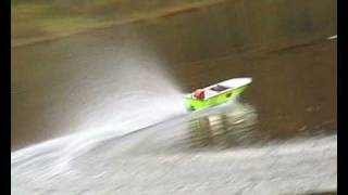 Homemade RC boat