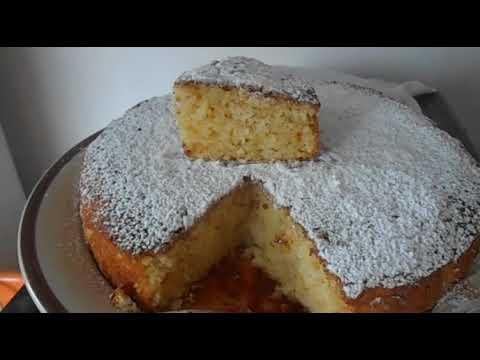 Soft And Spongy Orange and Yogurt Cake Recipe Gateau yaourt et orange