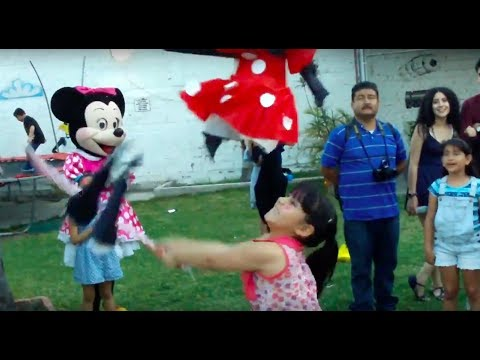 Birthday Mickey Mouse Pinatas