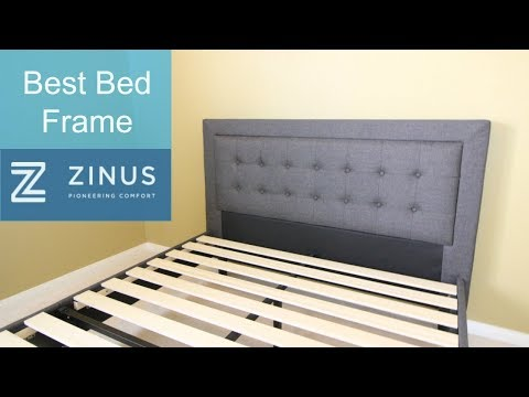 Best Bed Frame - Zinus Compact Square Platform Review