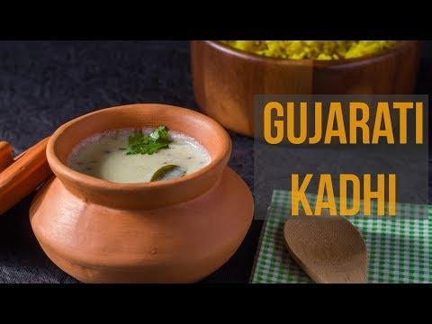 How to Make Gujarati Kadhi-Gujarati Kadhi in Hindi-Indian Microwave recipes-Kalimirchbysmita-Ep278