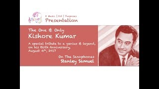 The Ultimate Saxophone Collection   A Tribute To Kishore Kumar   Stanley Samuel   #256