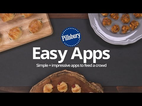 Pillsbury 3 Easy + Impressive Appetizers