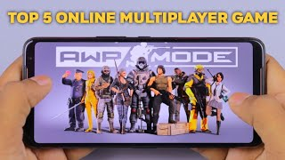 Top 5 Awesome Online Multiplayer Android Game