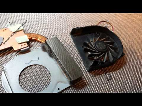 Dell Inspiron N5010 disassembly BIOS battery replacement, cooler fan clean, wymiana, jak rozłożyć