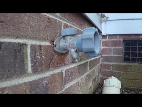Replacing An Outdoor Faucet