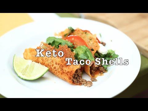 Keto Cheese Taco Shells!