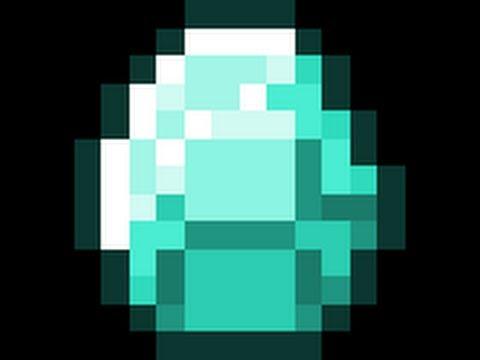 How To Make A Minecraft Diamond Easy!