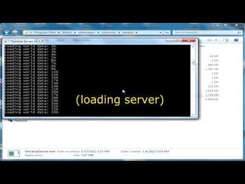Terraria: Creating a Local Server