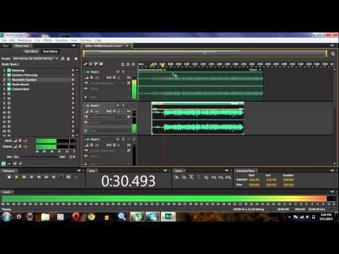 Professional Vocals on Adobe Audition Cs6 Pt.2