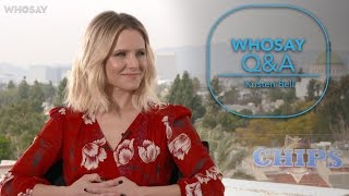 Kristen Bell reveals how she convinced husband Dax Shepard to cast her in CHiPS | WHOSAY
