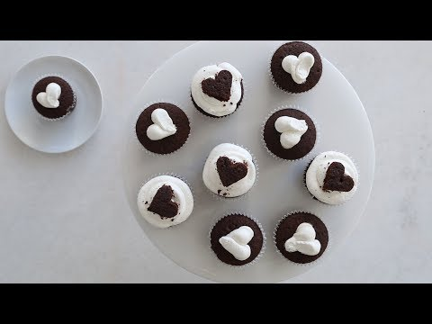 Chocolate Cupcakes with Milk Frosting- Sweet Talk with Lindsay Strand
