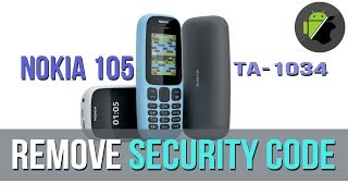 Nokia 130 TA 1017 Security Code Unlock - PakVim net HD