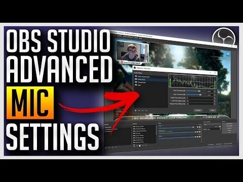 ✅ OBS Studio - Advanced Mic Settings (Noise Removal, Compressor, Noise Gate)