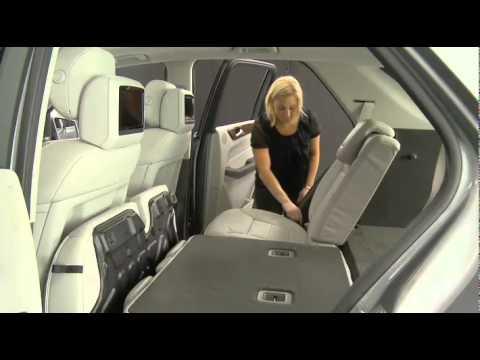 Rear Seat Folding - Mercedes-Benz USA M-Class