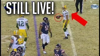 """NFL """"THE PLAY IS STILL LIVE!"""" Moments 