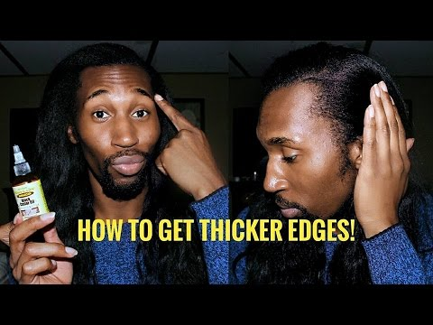 How To Get Thicker Edges/ Regrow Edges!