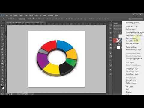 Photoshop 3D Pie Chart Generator