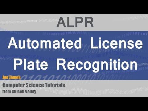 ALPR Automatic License Plate Recognition