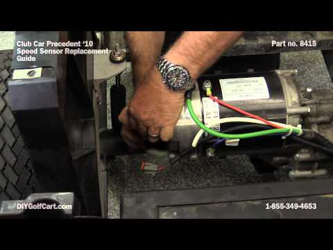 Speed Sensor for Club Car Motor | How to Replace on Golf Cart