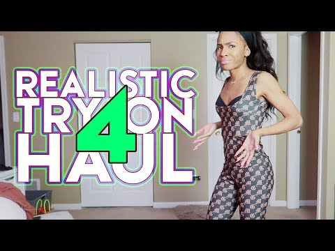 REALISTIC TRY ON HAUL 4: Girl What is THIS? (Levi's, Missguided, Asos) ▸ VICKYLOGAN