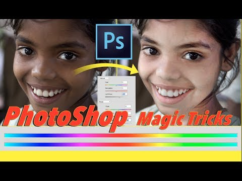 Dark to Fair Face, Easy way to change skin colour in Photoshop