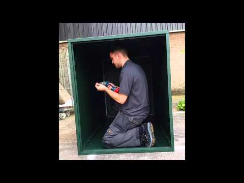 Build a Secure Bike Shed - Ironstor Fortress