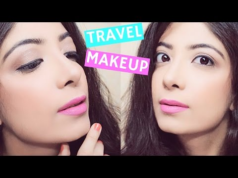 Easy Light Natural Makeup Tutorial with Affordable products   Look Good in #Selfie & Travel Photos