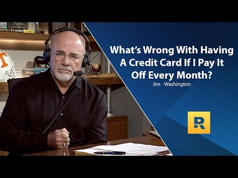What's Wrong With A Credit Card If I Pay It Off Every Month?