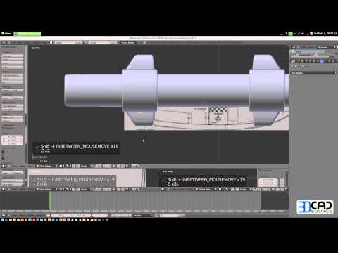 How to model a motor boat in Blender 2.6 part05