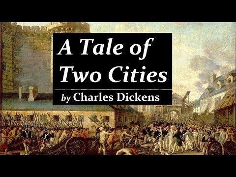 A Tale of Two Cities by Charles Dickens |  Audiobook with Subtitles | Part 1 of 2