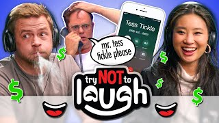 Try Not To Laugh Challenge Battle | 💦 = 💰(Ep. #135)
