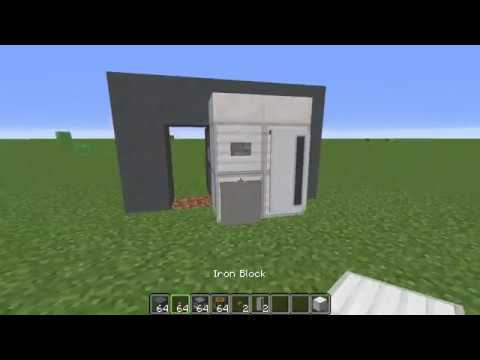 How To Build A Fridge In Minecraft!