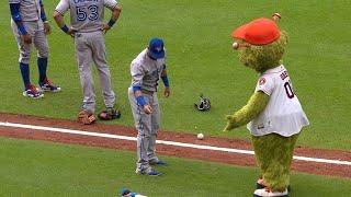 MLB Funny mascots