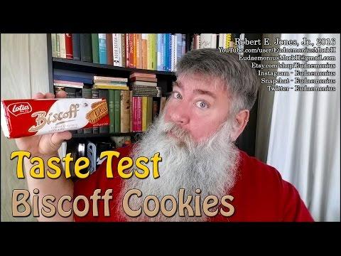 Taste Test BISCOFF COOKIES - Day 17,067
