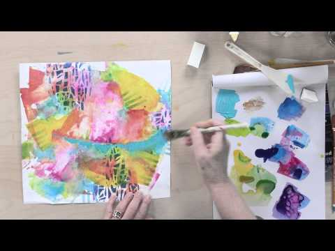 Preview | Abstract Art Explorations: 17 Acrylic Painting Techniques with Chris Cozen