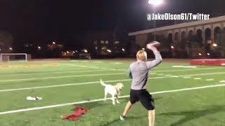 Blind USC long-snapper Jake Olson shows off his impressive QB skills   ESPN