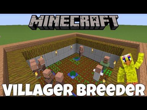 Minecraft Villager Breeder 1.12 & MCPE